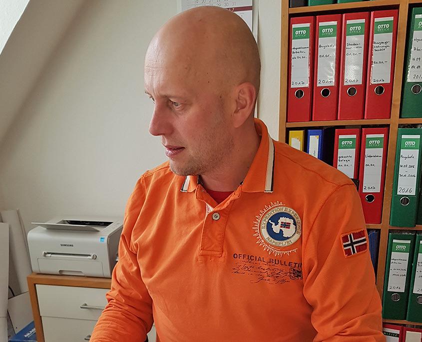 Anderas Kunert Geschäftsführer von Holz & Handwerk in Hannover