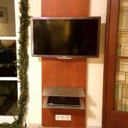 TV-Wandhalterung als Maßanfertigung