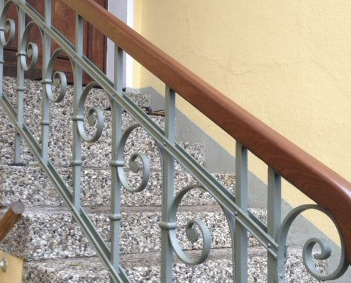 Treppenhandlauf von links