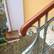 gefrästes Treppenhandlauf-Ende