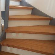 Treppenstufen Kurve