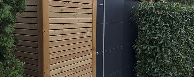 Gartenhaus mit Flachdach