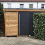 Gartenhaus Holzständerwerk