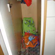 Garderobe Innenaufteilung