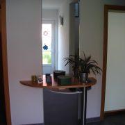 Schlüssel und Postablage im Flurbereich